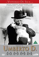 Umberto D. - Danish Movie Cover (xs thumbnail)