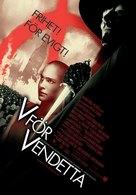 V For Vendetta - Swedish Movie Poster (xs thumbnail)