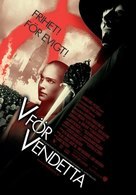 V for Vendetta - Swedish Movie Poster (xs thumbnail)