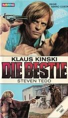 La belva - German VHS cover (xs thumbnail)