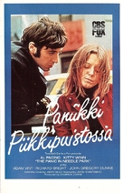 The Panic in Needle Park - Finnish VHS cover (xs thumbnail)