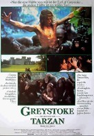 Greystoke - German Movie Poster (xs thumbnail)