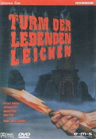 Tower of Evil - German DVD cover (xs thumbnail)