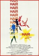 Hair - German Movie Poster (xs thumbnail)