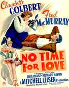 No Time for Love - Movie Poster (xs thumbnail)