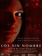 Los sin nombre - Spanish Movie Cover (xs thumbnail)