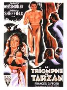 Tarzan Triumphs - French Movie Poster (xs thumbnail)