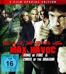 Max Havoc: Curse of the Dragon - German Blu-Ray cover (xs thumbnail)