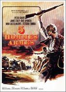 Esercito di cinque uomini, Un - French Movie Poster (xs thumbnail)