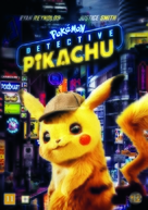 Pokémon: Detective Pikachu - Danish DVD movie cover (xs thumbnail)