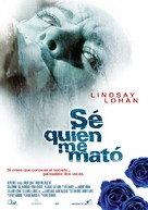 I Know Who Killed Me - Spanish Movie Poster (xs thumbnail)