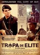 Tropa de Elite - Danish Movie Poster (xs thumbnail)