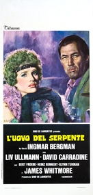 The Serpent's Egg - Italian Movie Poster (xs thumbnail)
