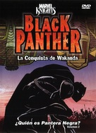 """Black Panther"" - Mexican DVD movie cover (xs thumbnail)"