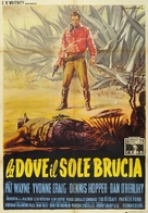 The Young Land - Italian Movie Poster (xs thumbnail)