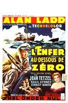 Hell Below Zero - Belgian Movie Poster (xs thumbnail)