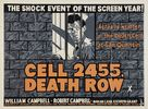 Cell 2455 Death Row - British Movie Poster (xs thumbnail)