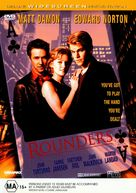 Rounders - Australian DVD cover (xs thumbnail)