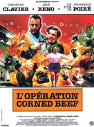Opération Corned-Beef, L' - French Movie Poster (xs thumbnail)