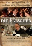 Die Fälscher - Dutch Movie Poster (xs thumbnail)