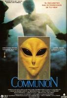 Communion - Spanish Movie Poster (xs thumbnail)