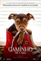 A Dog's Way Home - Brazilian Movie Poster (xs thumbnail)