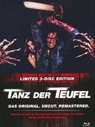 The Evil Dead - German Blu-Ray cover (xs thumbnail)