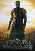 Gladiator - Swedish Movie Poster (xs thumbnail)