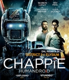 Chappie - Italian Movie Cover (xs thumbnail)