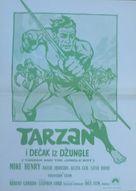 Tarzan and the Jungle Boy - Yugoslav Movie Poster (xs thumbnail)