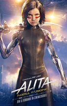 Alita: Battle Angel - Romanian Movie Poster (xs thumbnail)