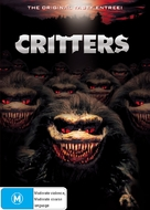 Critters - Australian DVD cover (xs thumbnail)