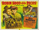 Robin Hood of the Pecos - Movie Poster (xs thumbnail)