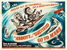Abbott and Costello Go to Mars - British Movie Poster (xs thumbnail)