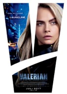 Valerian and the City of a Thousand Planets - German Movie Poster (xs thumbnail)