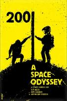 2001: A Space Odyssey - Romanian Movie Cover (xs thumbnail)