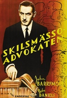 Counsellor at Law - Swedish Movie Poster (xs thumbnail)