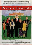 Peter's Friends - French Movie Poster (xs thumbnail)