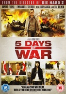 5 Days of War - British Movie Cover (xs thumbnail)