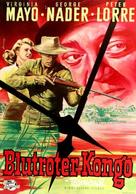 Congo Crossing - German Movie Poster (xs thumbnail)
