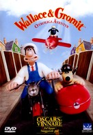 Wallace & Gromit: The Best of Aardman Animation - Swedish DVD cover (xs thumbnail)