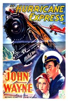 The Hurricane Express - French Movie Poster (xs thumbnail)