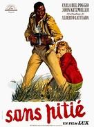 Senza pietà - French Movie Poster (xs thumbnail)