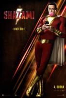 Shazam! - Czech Movie Poster (xs thumbnail)