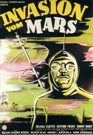 Invaders from Mars - German Movie Poster (xs thumbnail)