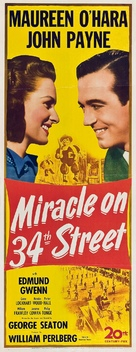 Miracle on 34th Street - Movie Poster (xs thumbnail)