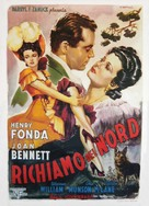 Wild Geese Calling - Italian Movie Poster (xs thumbnail)