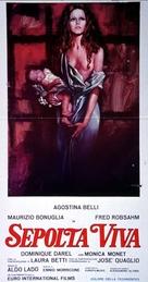 Sepolta viva - Italian Movie Poster (xs thumbnail)