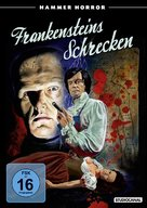 The Horror of Frankenstein - German Movie Cover (xs thumbnail)