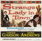 Strange Lady in Town - Movie Poster (xs thumbnail)